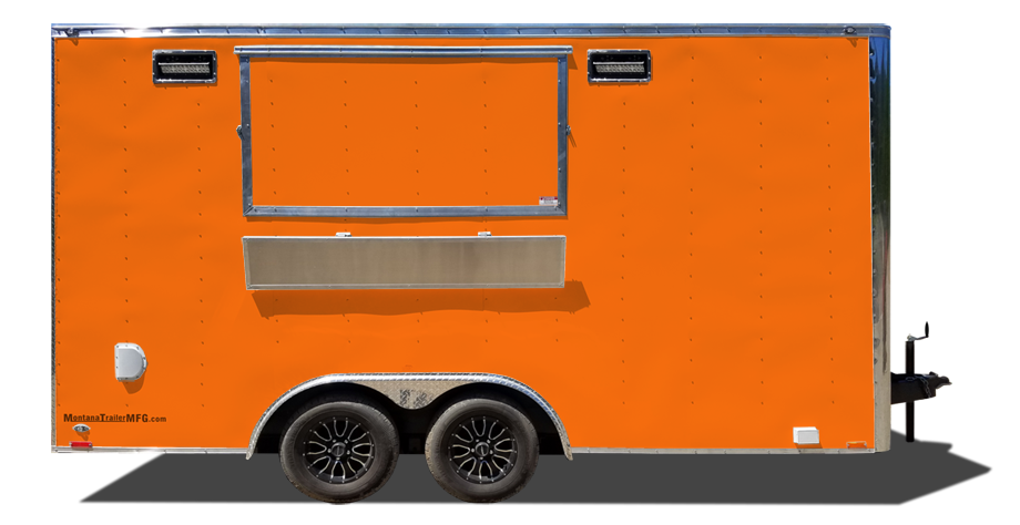 16' Sidekick Food Trailer - By Montana Trailer MFG