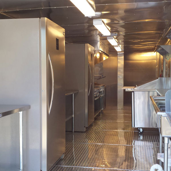Food Trailer Kitchen 1