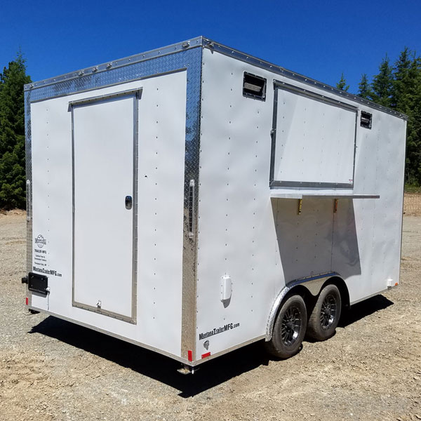 Food Trailer - Montana Trailer MFG