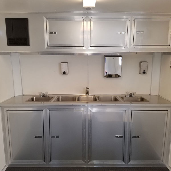 Food Trailer - Sink Cabinets